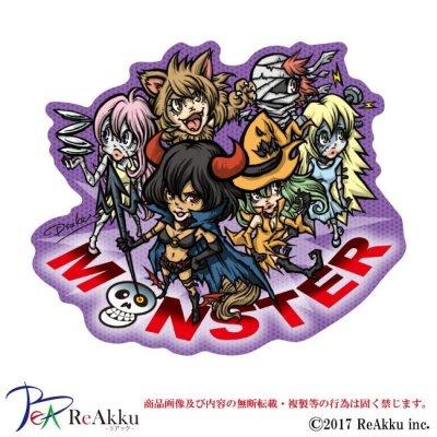画像1: ハロウィンステッカー-MONSTE-Dsuke