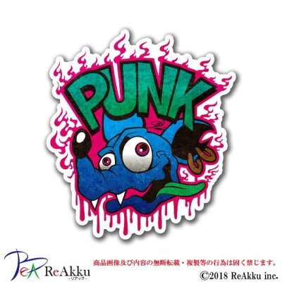 画像1: PUNK RAT BLUE-ZIMMA