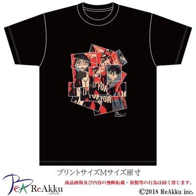 画像2: 【Tシャツ】阿吽-さくしゃ2(画像をクリックで販売ページ)