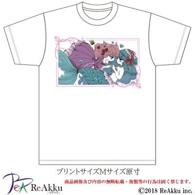 画像2: 【Tシャツ】人魚-シウ(画像をクリックで販売ページ)