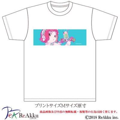 画像2: 【Tシャツ】ハチガツのメイド-こけし(画像をクリックで販売ページ)