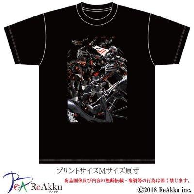 画像2: 【Tシャツ】シーエ_骨型集合-Deino(画像をクリックで販売ページ)