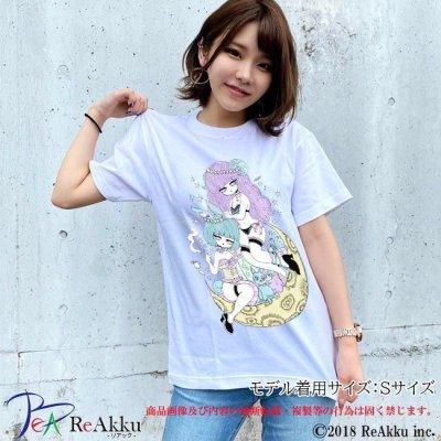 画像1: 【Tシャツ】惑星少女-シウ(画像をクリックで販売ページ)