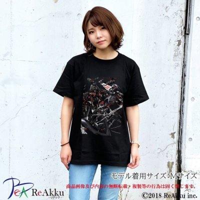 画像3: 【Tシャツ】シーエ_骨型集合-Deino(画像をクリックで販売ページ)