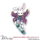 スケボー白ウサギ-Jin