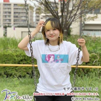 画像1: 【Tシャツ】ハチガツのメイド-こけし(画像をクリックで販売ページ)