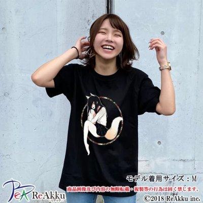 画像1: 【Tシャツ】メギツネ-じゅんた(画像をクリックで販売ページ)