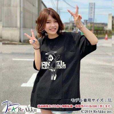 画像1: 【Tシャツ】天使[黒]-nogi(画像をクリックで販売ページ)