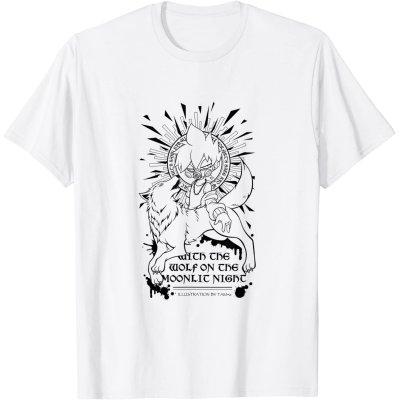 画像1: 【Tシャツ】狼とキョウTシャツ-TAM+α(画像をクリックで販売ページ)